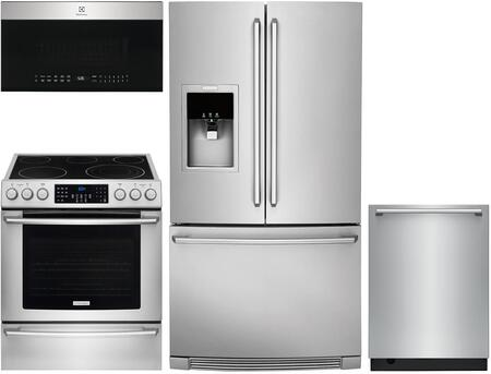 Electrolux  1005867 Kitchen Appliance Package Stainless Steel, Main Image