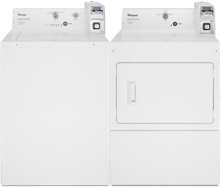 Whirlpool  772377 Washer & Dryer Set White, 1