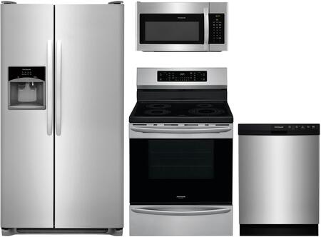 Frigidaire  850856 Kitchen Appliance Package Stainless Steel, 16