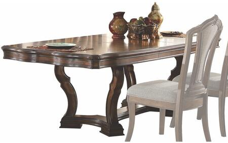 Acme Furniture Valletta 66170 Dining Room Table Brown, Dining Table