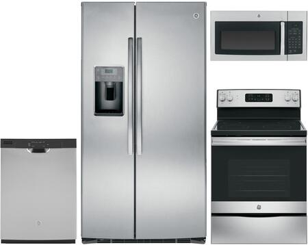 GE 683707 Kitchen Appliance Package & Bundle Stainless Steel, main image