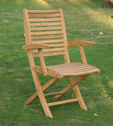 Douglas Nance Bali DN3355 Patio Chair Brown, DN3355 Main Image