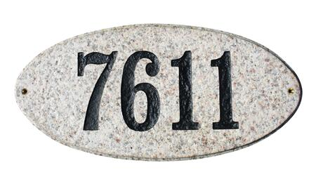 Qualarc Rockport ROC4701AL Address Plaques, ROC 4701 AL