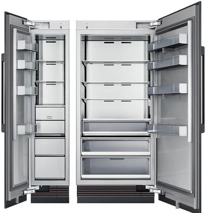 Dacor Modernist 867753 Column Refrigerator & Freezer Set Panel Ready, Custom Panels and Handles not Included