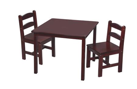 3018C Children's Table and Chair Set with 2 Chairs in