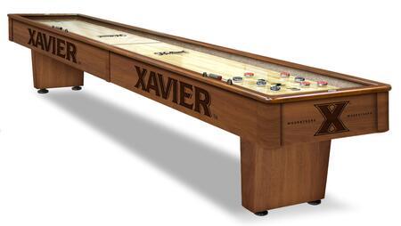 Holland Bar Stool  SB12XAVIER Shuffleboard Table Brown, Shown in Chardonnay Finish
