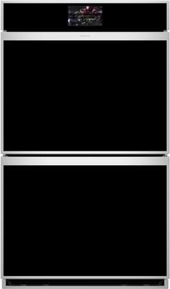 """Monogram Minimalist ZTDX1DSSNSS 30"""" Minimal Electronic Convection Double Wall Oven"""