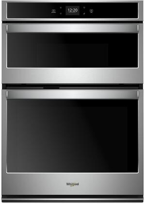 Whirlpool  WOC54EC7HS Double Wall Oven Stainless Steel, Main Image