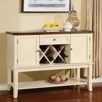 Furniture of America Dover CM3326WCSV Dining Room Buffet Multi Colored, Main Image