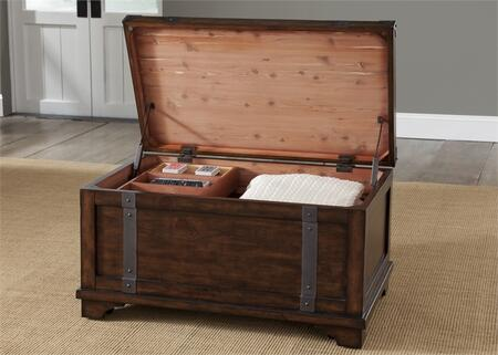 Liberty Furniture Aspen Skies 316OT1010 Trunk Brown, Main Image