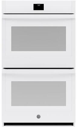 GE  JTD5000DNWW Double Wall Oven White, Main Image