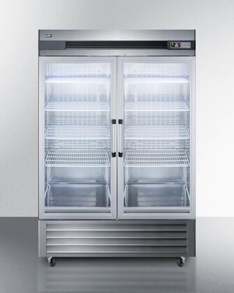 Summit  SCR49SSG Reach-In Refrigerator Stainless Steel, SCR49SSG Reach In Refrigerator