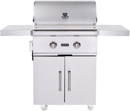 Coyote C Series C1C28XXFS Grill Stainless Steel, Grill with Cart