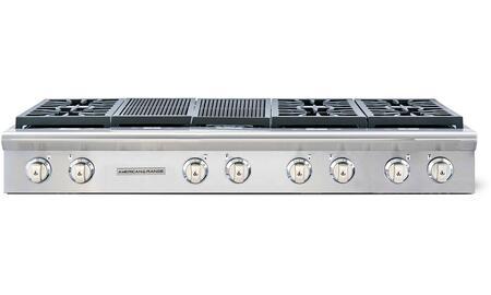 American Range Performer AROBSCT6602GRN Gas Cooktop Stainless Steel, AROBSCT6602GRN Rangetop