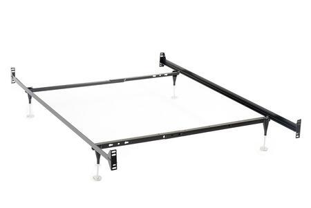 Coaster  9602TF Stationary Bed Frames Black, Main Image