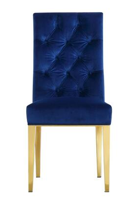 Meridian Capri 716NAVYC Dining Room Chair Blue, Main Image