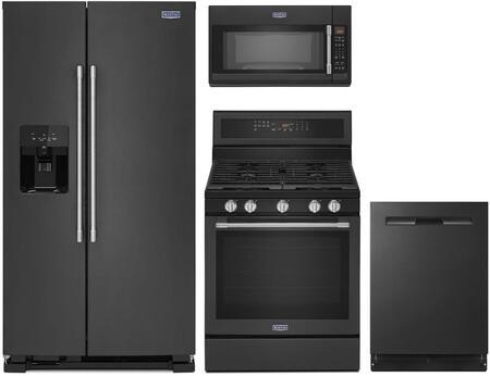 Maytag 1125594 Kitchen Appliance Package & Bundle Black, main image