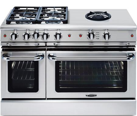 Capital Precision GSCR484WL Freestanding Gas Range Stainless Steel, Main Image
