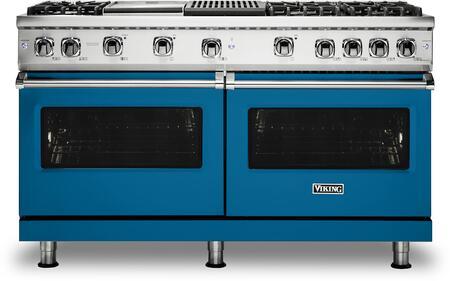 Viking 5 Series VGR5606GQABLP Freestanding Gas Range Blue, VGR5606GQABLP Gas Range