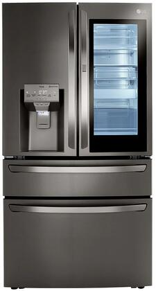 LG  LRMVS3006D French Door Refrigerator Black Stainless Steel, LRMVS3006D 4 Door French Door Refrigerator