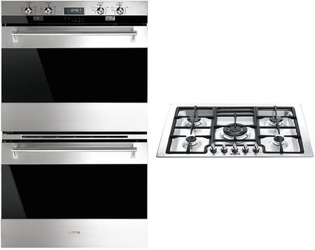 Smeg  841654 Kitchen Appliance Package Stainless Steel, 1