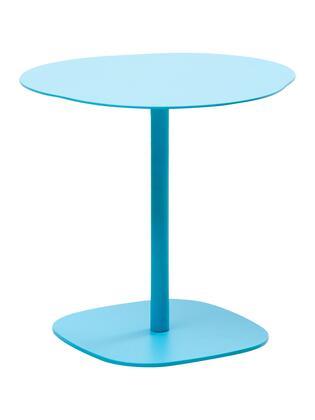 Florida Seating Palm Beach PALMBEACHSTBBL Outdoor Patio Table Blue, palm beach side table