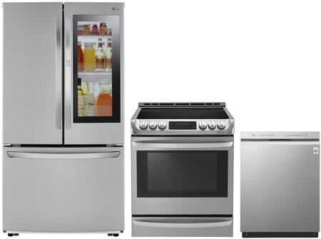 LG 1130880 Kitchen Appliance Package & Bundle Stainless Steel, main image