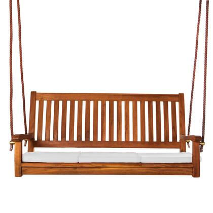 All Things Cedar TS50W Outdoor Patio Swing, TS50 W.MAIN