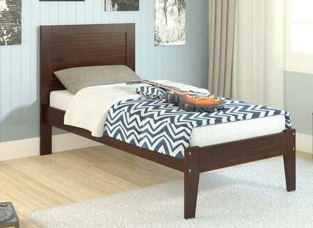 Donco  575TCP Bed Brown, Main Image