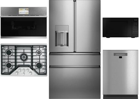 Cafe  1150594 Kitchen Appliance Package Stainless Steel, main image