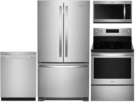 Whirlpool 930297 Kitchen Appliance Package & Bundle Stainless Steel, main image