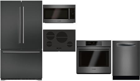 Bosch 980911 Kitchen Appliance Package & Bundle Black Stainless Steel, Main image