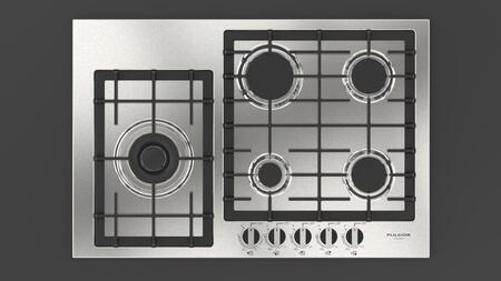Fulgor Milano 400 Series F4GK30S1 Gas Cooktop Stainless Steel, Stainless Steel