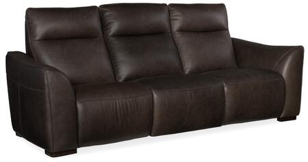 Hooker Furniture MS Series SS609P3096 Motion Sofa Black, Silo Image