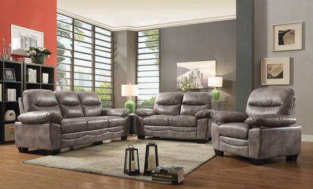 Glory Furniture G676SET Living Room Set Gray, 1