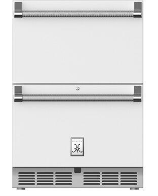 Hestan  GRR24WH Drawer Refrigerator White, Main Image