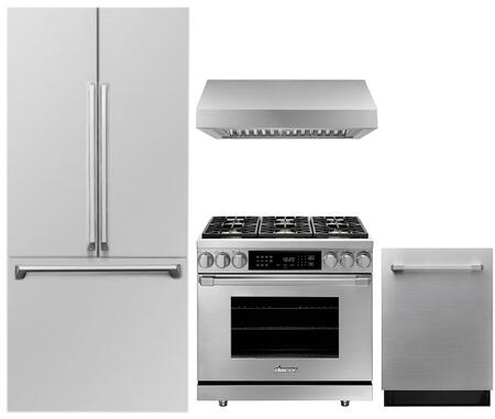 Dacor  1285896 Kitchen Appliance Package Stainless Steel, Main image