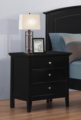 Myco Furniture Whistler WH903N Nightstand Black, WH903N Main Image