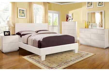 Furniture of America Winn Park CM7008WHTCKDMCN Bedroom Set White, Main Image