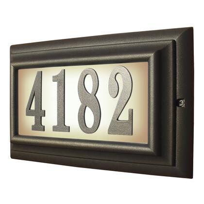 Qualarc Edgewood LTL1301ORB Address Plaques, LTL 1301 ORB