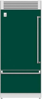 Hestan  KRPL36GR Bottom Freezer Refrigerator Green, Main Image
