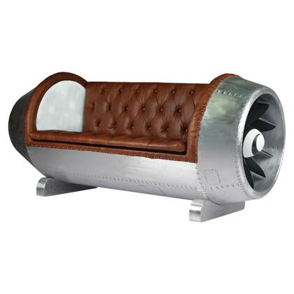 Yosemite Leather Luxury 250038 Stationary Sofa, Main Image