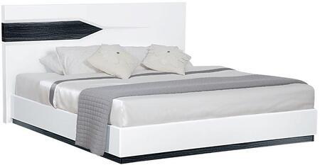 Global Furniture USA Hudson HUDSON988EKB Bed White, Main Image