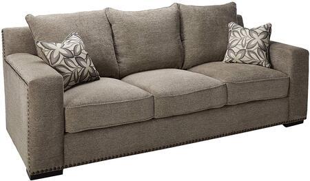 Acme Furniture Ushury 52190 Stationary Sofa Gray, Sofa