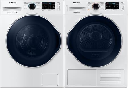 Samsung  969809 Washer & Dryer Set White, 1