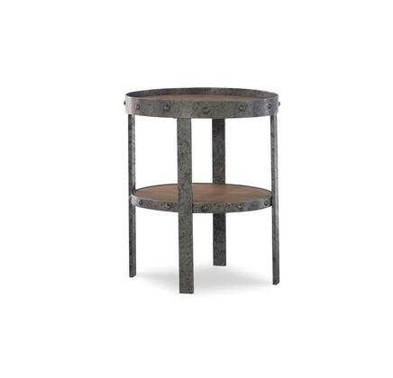 Powell McGinn D1178A18 End Table Brown, D1178A18