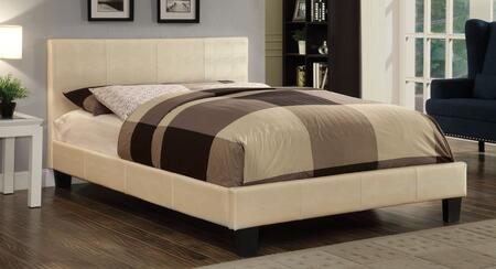 Furniture of America Wallen CM7793WHFBED Bed White, 1