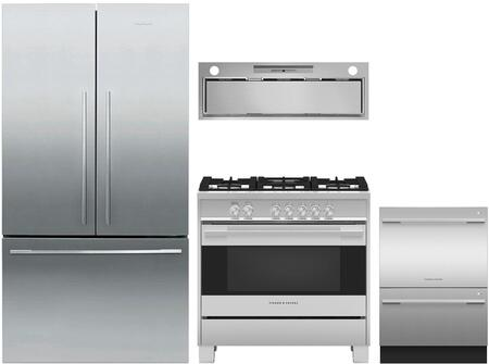Fisher Paykel 1125151 Kitchen Appliance Package & Bundle Stainless Steel, main image