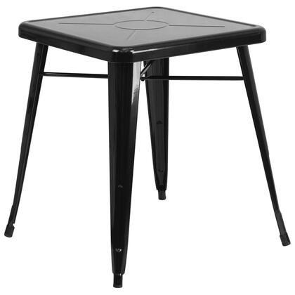 Flash Furniture CH3133029BKGG Outdoor Patio Table Black, 1