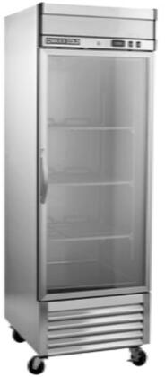 MXSR-23GD 27″ Select Series Glass Door Reach-In Refrigerator with 19.3 cu. ft. Capacity  CFC-Free Polyurethane Foam Insulation  Digital Controls and